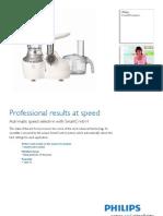 Philips HR7768/13 brochure