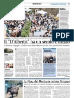 Articolo Corriere Mercantile 2-06-2013 Contubernio G.B.D'ALBERTIS