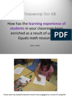 Numeracy for All Success Stories #2