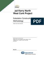 Substation Construction Methodology