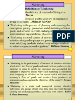 Marketing and Its Tasks