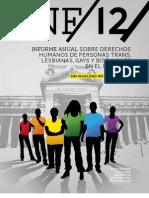 Informe Anual DDHH TLGB 2012