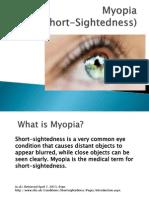 Myopia Presentation