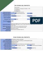 Fichas Tecnicas Proyectos Oruro
