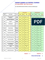 2007 PPC Course Schedule
