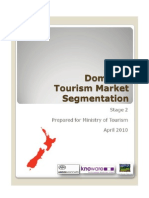Domestic Tourism Report April 2010