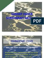 Konsep Dasar Stratigrafi Modern