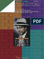 Duke Ellington Music of (US EasyPIANO ISBN0793549124)