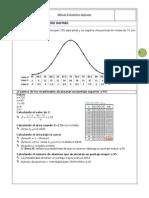 La distribución normal Metodo estadistico aplicado