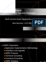 Oracle Fixed Assets - Implementation Tips and Strategies
