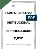 Plan Operativo Regional del año 2012