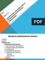 Esquema de Presentación del Proyecto Completo