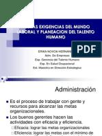 Diplomado en Talento Humano MODULO I ERIKA NOVOA