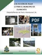 Plan de Accion Sistema de Agua Olanchito PASOS III