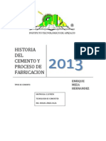 3historia Del Cemento y Proceso de Fabricacion