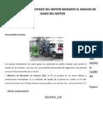 Diagnostico Del Estado Del Motor Mediante El Analisis de Gases Del Motor