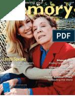 Alzheimer's Magazine - Preserving Your Memory - Spring09