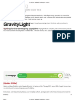 GravityLight, Lighting for the Developing Countries