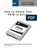 How to Check That TRIM is Active