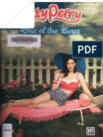 Katy Perry - One of the Boys (Songbook)