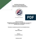PREFERENCIAS UNIVERSIDADES DE LOS ALUMNOS DEL 5°TO GRADO  DE EDUCACIÓN SECUNDARIA DE LA I.E 0554 APLICACIÓN DE LA PROVINCIA DE SAN MARTIN