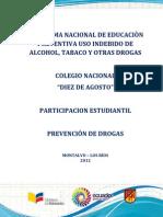 Proyecto Alcohol y Drogas
