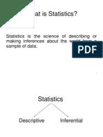 Basic Elements of Descritive Statistic