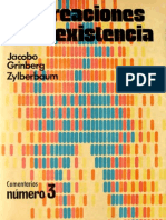 Las creaciones de la existencia  - Jacobo Grinberg-Zylberbaum