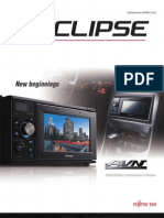 Eclipse Fujitsu Ten Audio Visual Navigation System Product Brochure for Eclipse Fujitsu Ten Cd5030 Gps Receiver[1]