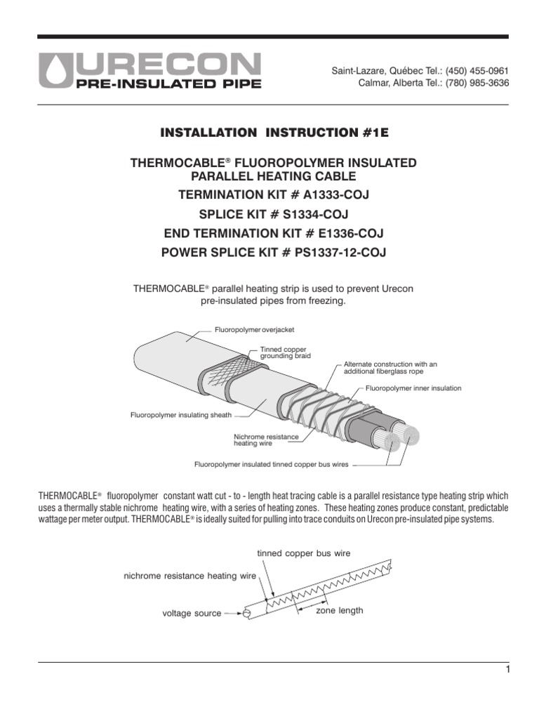 1E_Thermocable   Electrical Connector   Cable