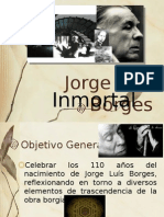 Conferencia 110 años Natalicio de Borges
