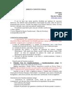 Direito_Constitucional 2° semestre 2011