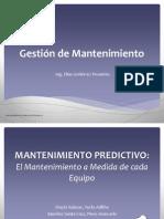 Tema 8 - El Mantenimiento Predictivo