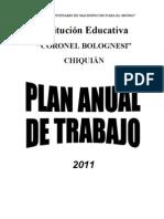 Plan Anual de Trabajo 2013 TOSCANO