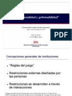 97746092 Institucionalidad y Gobernabilidad