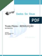 D3Simulados - Resolucao - Teste Piloto (16!05!2013)