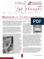 SWVA Second Harvest Food Bank Spring Newsletter 09
