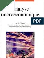 Analyse Microeconomique