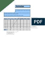 Basic Spreadsheet Skills