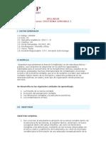 Doctrina Contable I - Syllabus