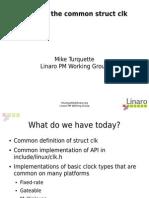 Common Clock Framework (BoFs)