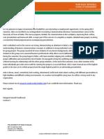 john ruddell letter of recommendation