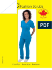 Spring/Summer 2013 PRO Fashion Scrubs Catalog