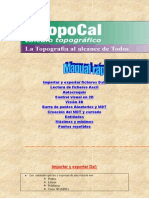 Manual de Topocal