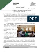 07/08/12 Germán Tenorio Vasconcelos CAPACITA IPAS-MÉXICO A GINECO-OBSTETRAS DEL HOSPITAL CIVIL