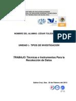 Trabajo de Investigacion Tema 1.5.- Cesar Toledo Sarabia 1