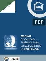 Manual de Calidad Para Hospedajes
