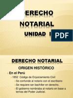 1. Derecho Notarial.