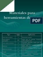 49872919 05 Materiales Para Herramientas de Corte Powerpoint