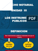 3. INSTRUMENTOS PUBLICOS